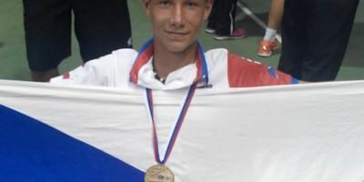 Jaroslav Šmédek - 2. místo v soutěži Nejlepší neslyšící sportovec roku 2017