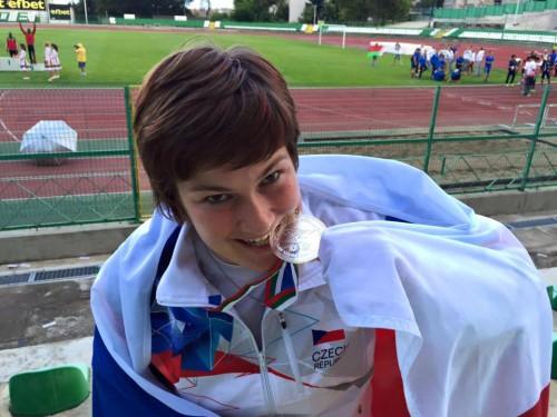 Lenka Matoušková - nejlepší neslyšící sportovec roku 2017