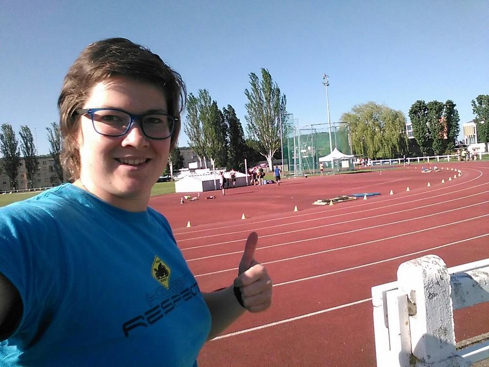 Lenka Matoušková a její osobní rekord:-)