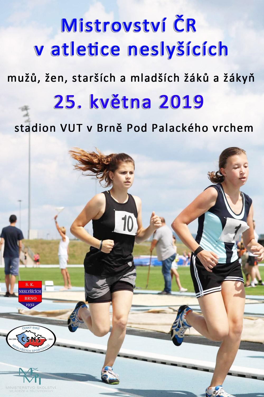 plakát-MČR-v-atletice