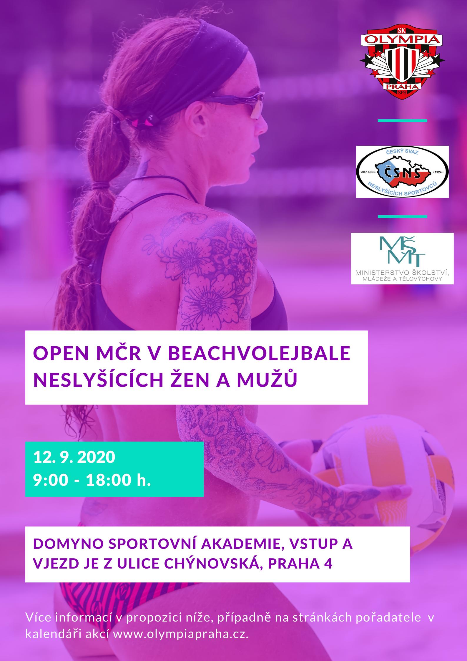 Open MČR v beachvolejbale neslyšících žen a mužů(4)