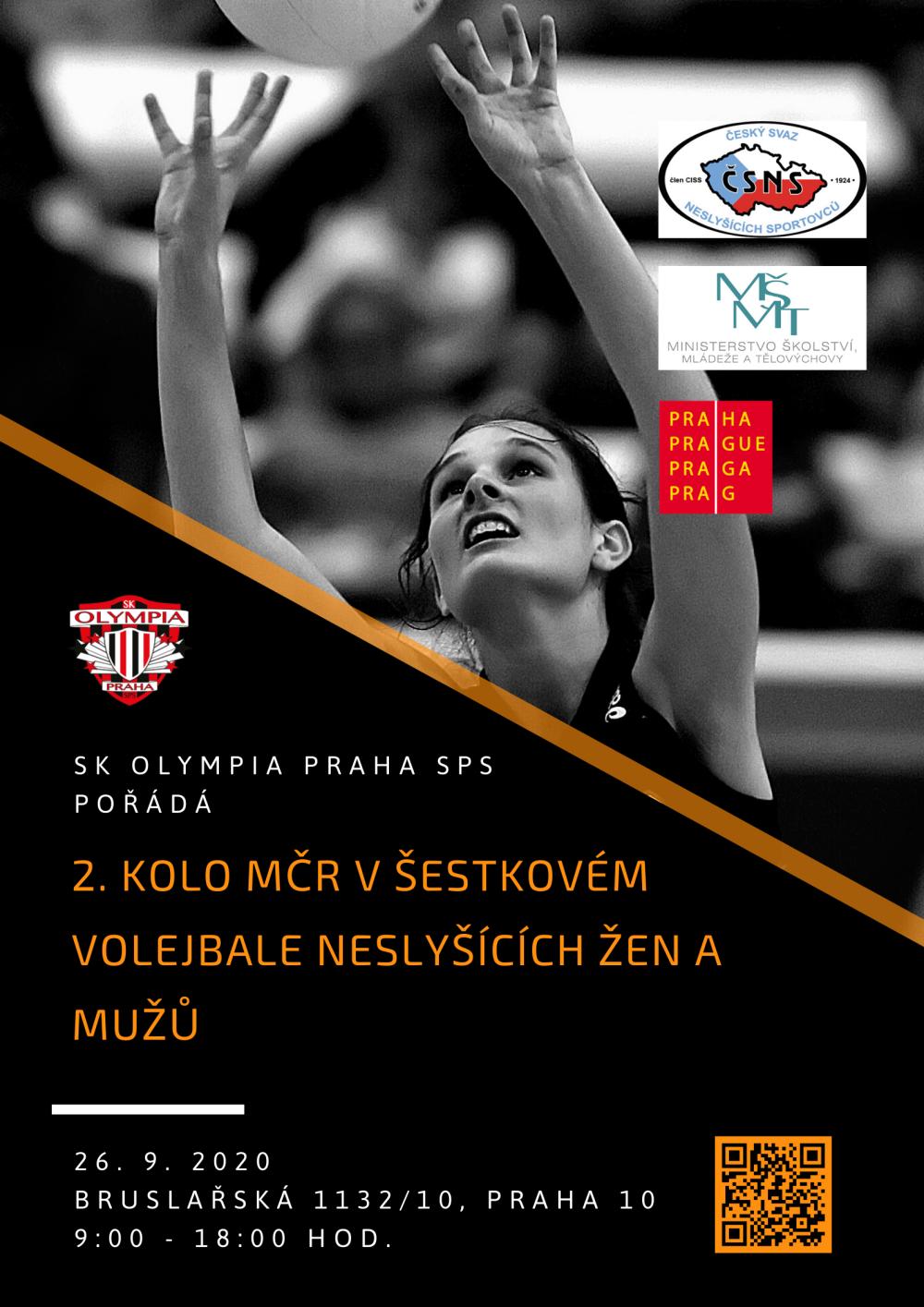 o1.kolo MČR v šestkovém volejbale neslyšících žen a mužů