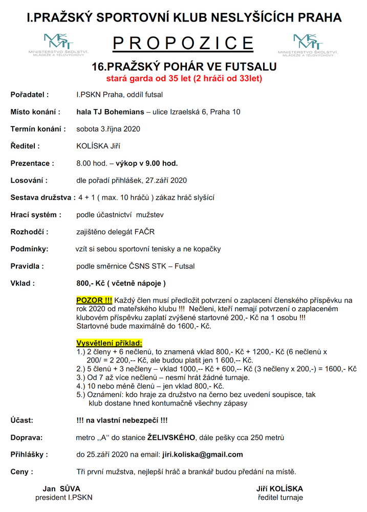 propozice-16.prazsky-pohar-futsal-stara-garda